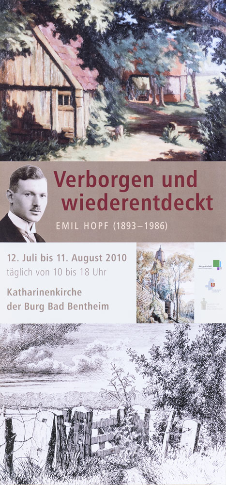 Ausstellung Emil Hopf in Bad Bentheim