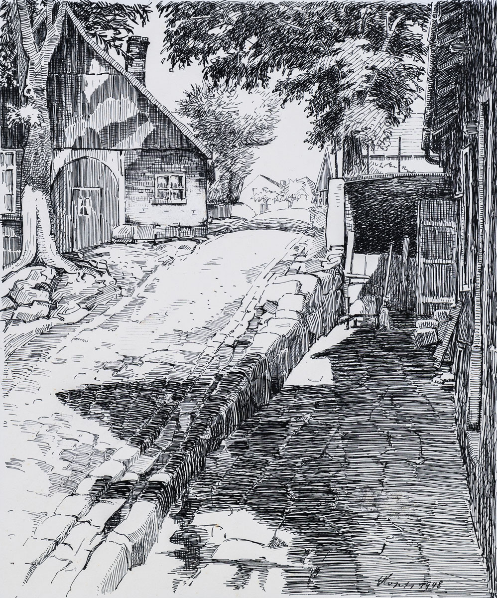 Alte Häuser am Mühlenberg (Haus Westerhoff), Bentheim