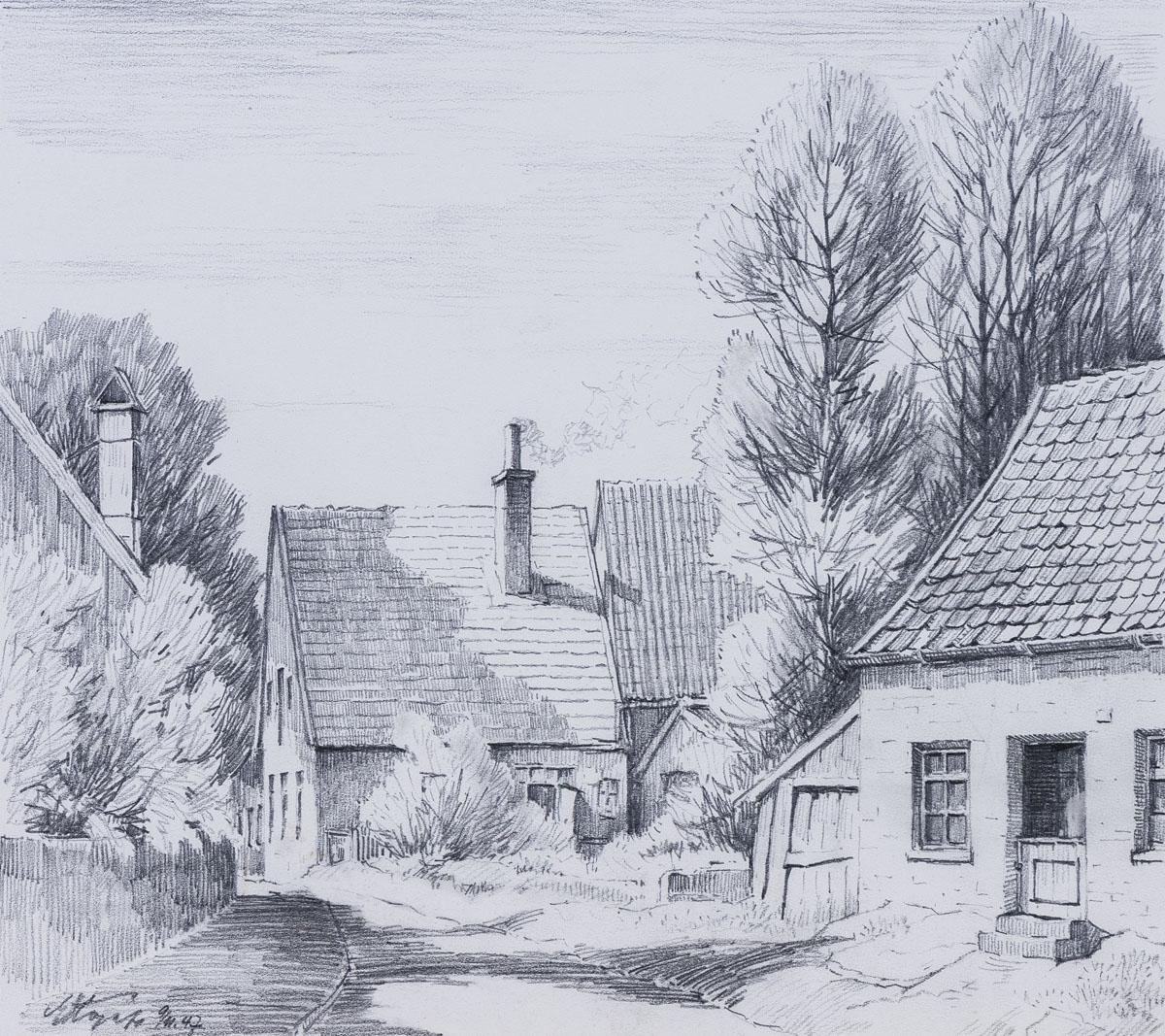 Häuser und Stiege in Bentheim